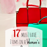 items in a Woman's Purse