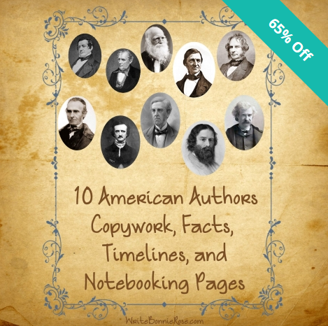 American Authors Resources on Sale