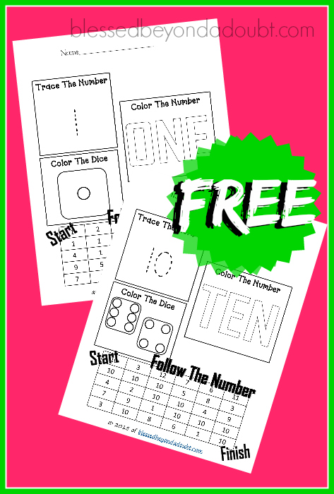 FREE Easy Math Worksheets 2