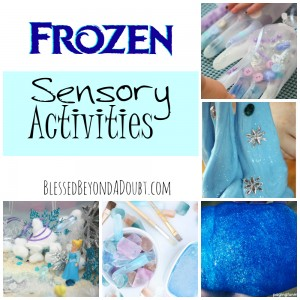 Frozen Sensory Activities