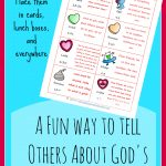 FREE God's Love Notes Printable Card
