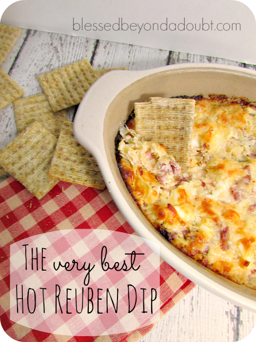 Delicious Hot Reuben Dip Recipe
