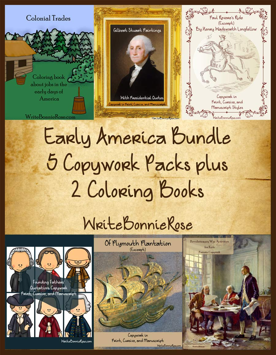 Early America History Resources On Sale Now Blessed