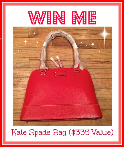 Who want to win this CUTE kate spade bag for Valentine's Day?