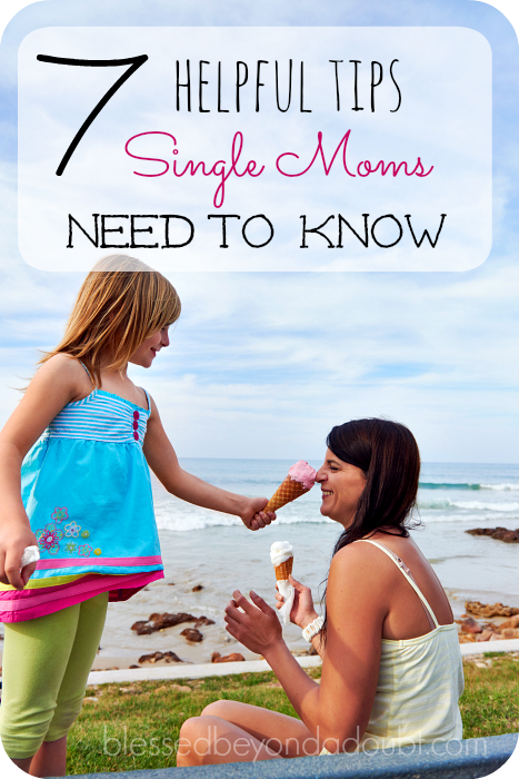 single mom tips and advice