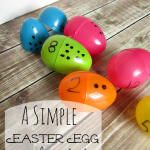 DIY Plastic Easter Egg Number Recognition Game!
