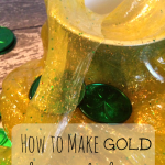 How to Make Homemade Slime – Shiny Gold