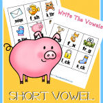 FREE Short Vowel Sounds Worksheets