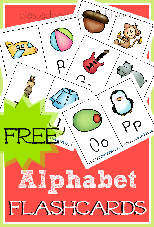 homeschool abc flashcards