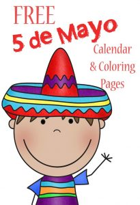Cinco de May coloring pages