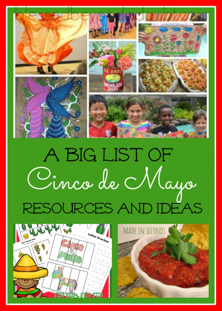 cinco de mayo, homeschool resources