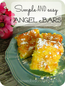 Easy Angel Bars Only 4 Ingredients