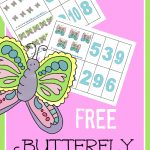 homeschool butterfly counting cards