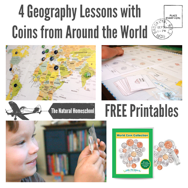 FREE Coins Around the World Printables!