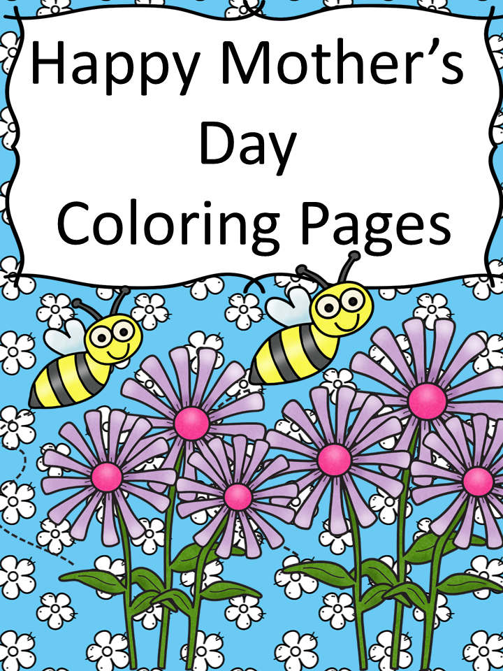Mother\'s Day Coloring Pages - Blessed Beyond A Doubt