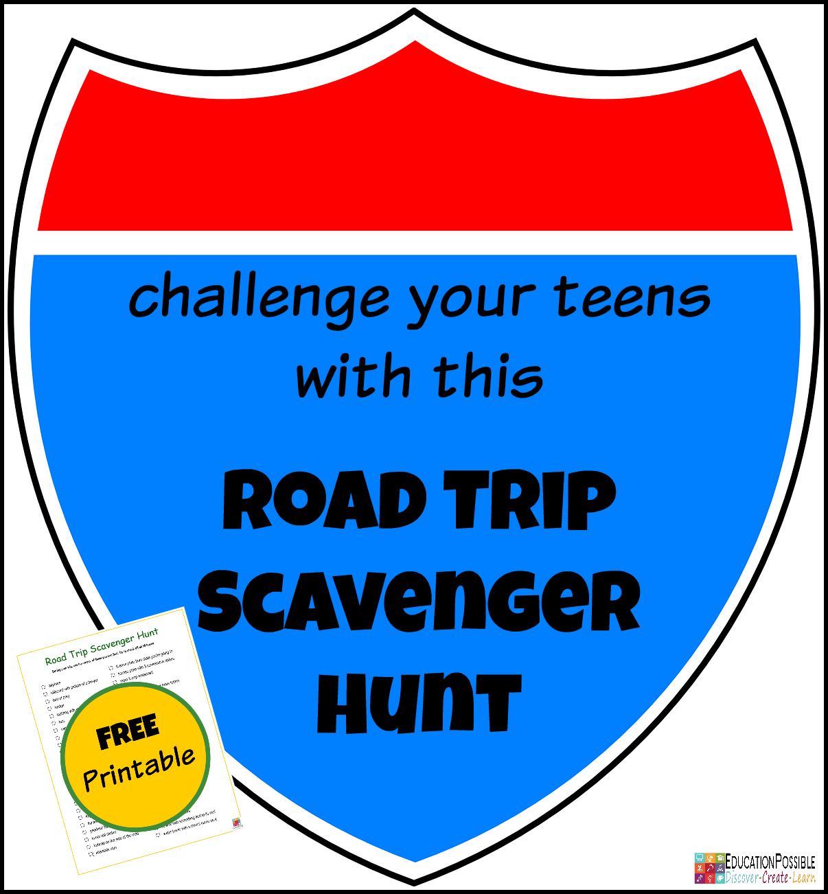 Challenge-your-Teens-with-a-Road-Trip-Scavenger-Hunt-@EducationPossible