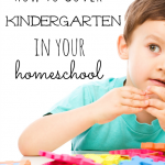 Making Sure Your Kindergarten Year is Complete