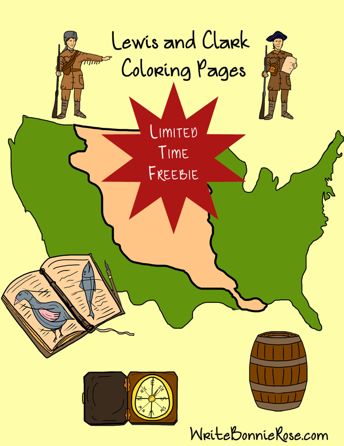 Lewis and Clark Coloring Book Limited Time Freebie