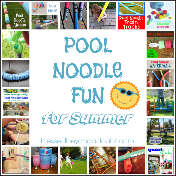 Pool Noodle Fun for Summer