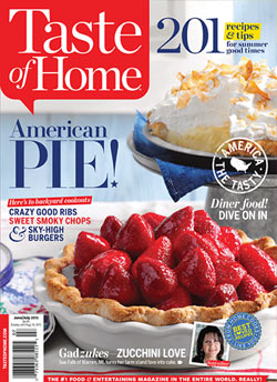 Taste of Home Magazine is only 8.99/1 Year today!