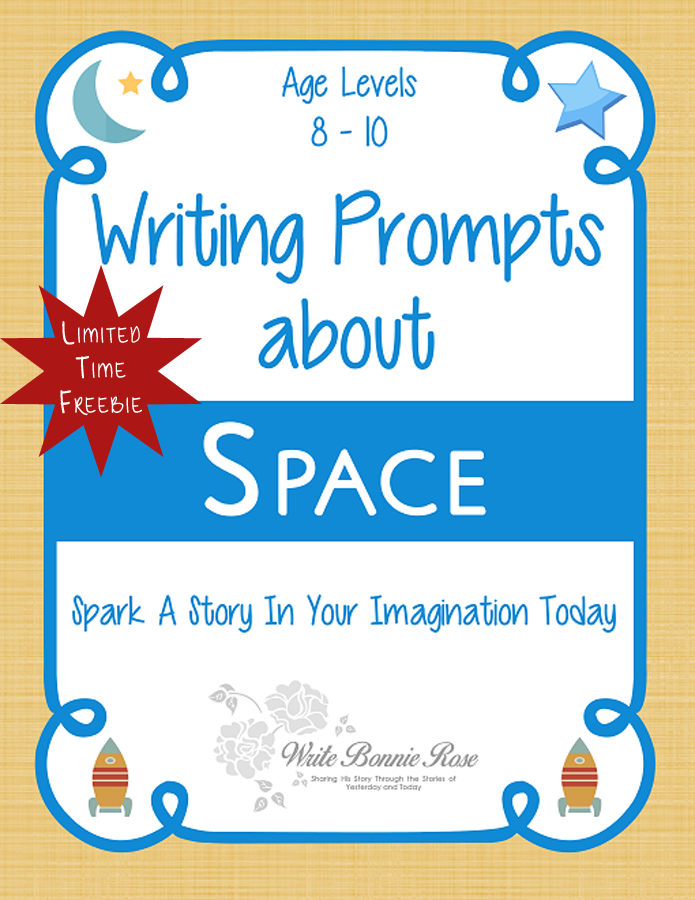 Writing Prompts About Space Limited Time Freebie