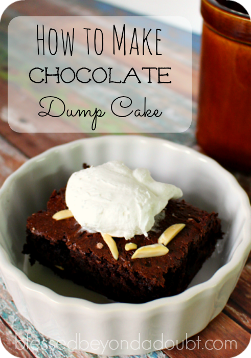 chocolate dump cake recipe