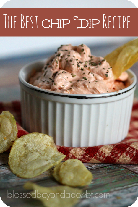 This is my favorite easy chip dip recipe . It's simple to make and taste great with potato chips or veggies.