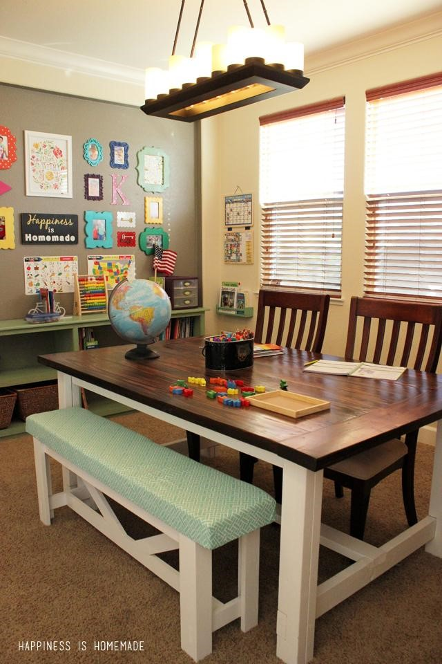 Make your home work for homework creating a home study for Table for kids room