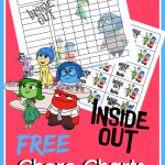FREE Inside Out Chore Charts!