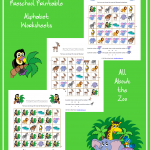 FREE Zoo-Themed Printable Alphabet Worksheets for Preschool