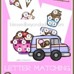 FREE Ice Cream ABC Matching