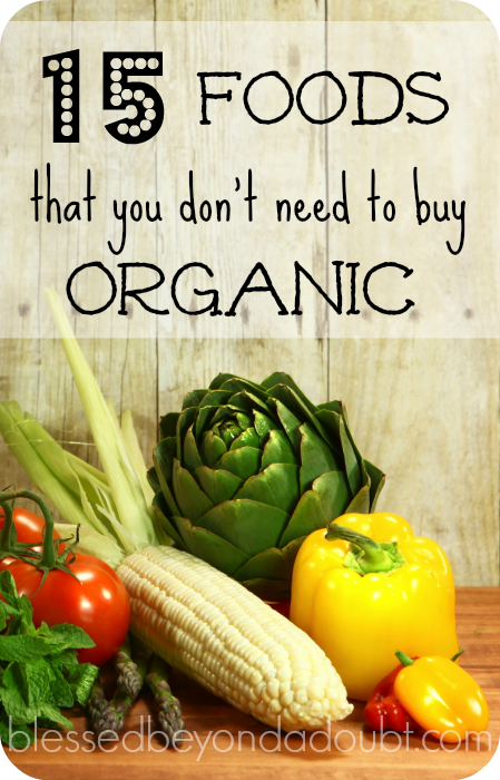 Don't waste your money on these organic foods! It's not worth it!