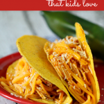 Kid-Friendly Spaghetti Tacos