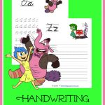 FREE Inside Out Handwriting printable sets. Choose from print or cursive.