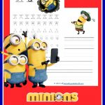 Your children will have so much fun practicing their print and cursive with these FREE Minions Handwriting Sets. Hurry, it's free for a limited time.