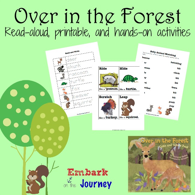 Over-in-the-Forest- Free Printable! So cute!