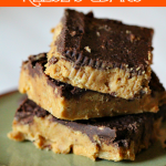 These Reese's bars are better than the real thing! So easy, and no baking.