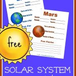FREE Planet Notebook Pages