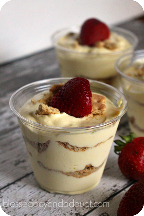 Creamy Graham Cracker Dessert