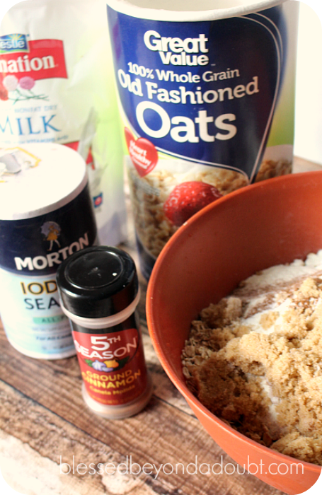 DIY Oatmeal Packs 1