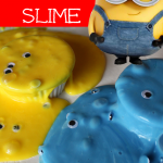 Make this FUN Minions Slime today! My kids had a blast with it!