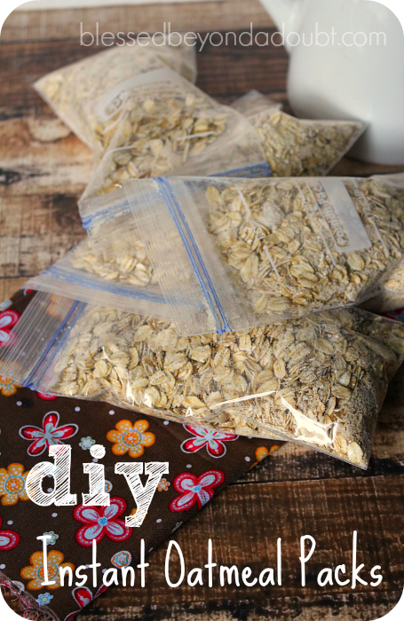 instant oatmeal packets 3