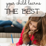 Make learning successful for you and your child.