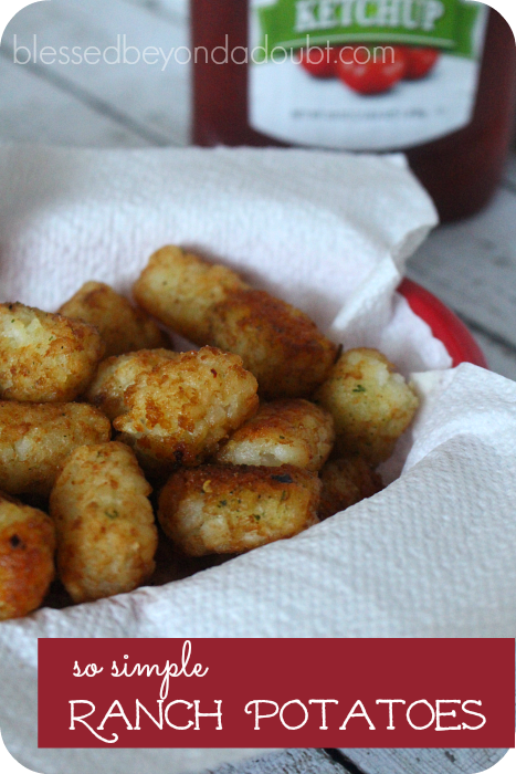 So Simple Ranch Potatoes