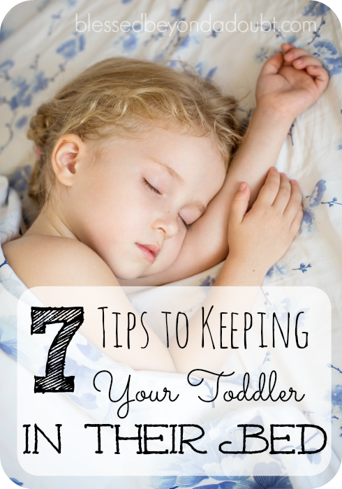 How to keep your toddlers in their own bed without pulling your hair out.
