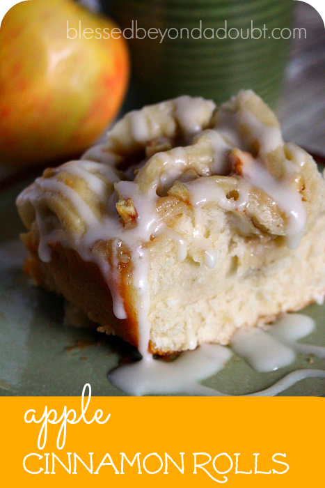 Scrumptious apple cinnamon rolls that will make you famous!