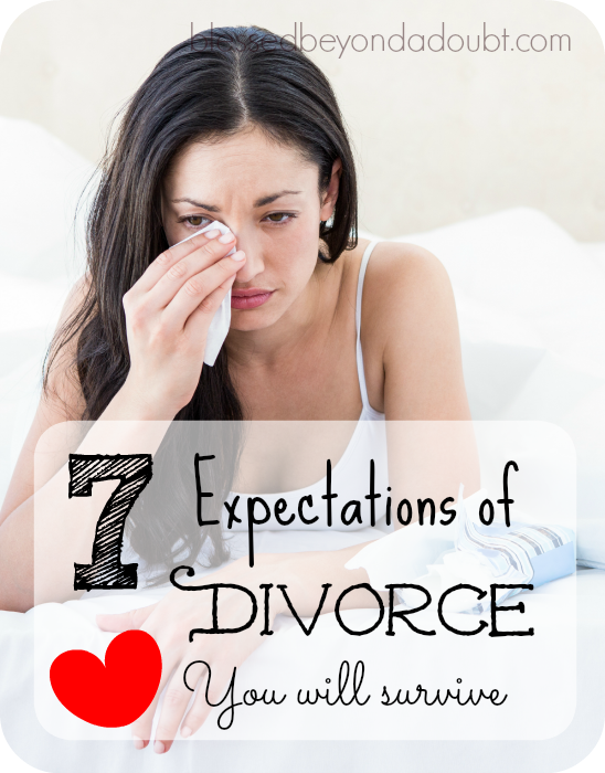 7 Things to Expect During a Divorce