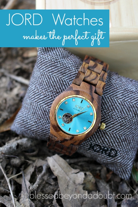 My JORD Watch is one of my favorite accessories. It makes the perfect gift for anybody that has everything, too.