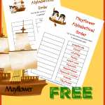 FREE Alphabetical Order Printables – MayflowerEdition!