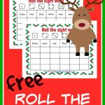 FREE Roll the Sight Words - Christmas edition. Your child will have so much this Christmas season while mastering their sight words.